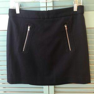 Navy Gap Skirt